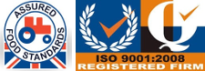 Assured Food Standards ISO 9001:2008 Registered Firm